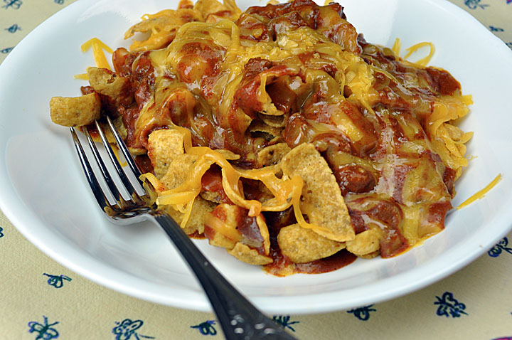 Frito Pie is pure Texas comfort food.