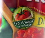 If water is a chemical, then so is steam. Hunt's tomato products appear to have no more chemicals in them than their competitors'.